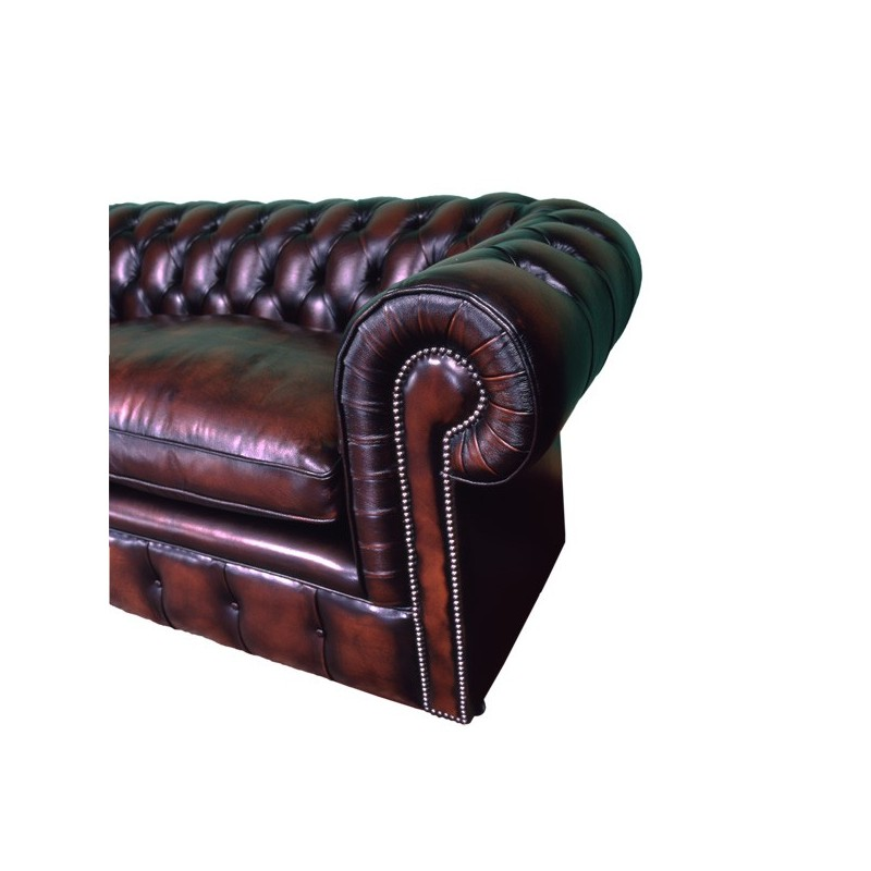 canap chesterfield 4 places en cuirs oxford classique pas cher british d co. Black Bedroom Furniture Sets. Home Design Ideas