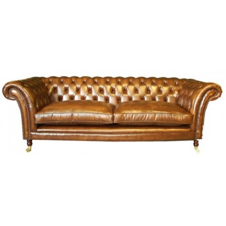 Canapé Chesterfield 3 places MODELE Kensington