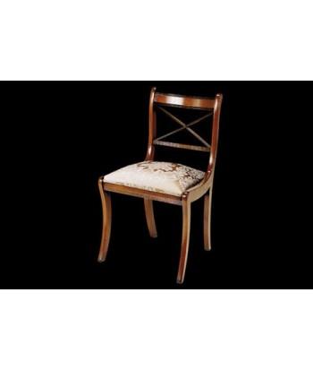 Chaise à croisillons