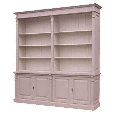 Biblioth que ouverte 4 portes pas cher british d co - Meuble bibliotheque ouverte ...