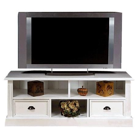 meuble tv plasma directoire 2 tiroirs cire miel pas cher british d co. Black Bedroom Furniture Sets. Home Design Ideas
