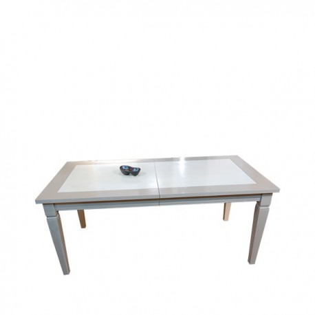 Table rectangulaire 1 allonge