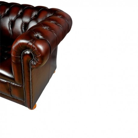 Canapé Chesterfield 4 places MODELE Cambridge