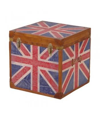 Coffre drapeau anglais