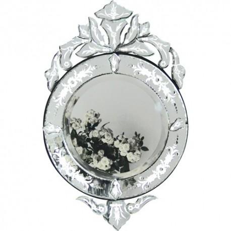 Miroir vénitien rond