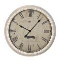 Horloge murale métal