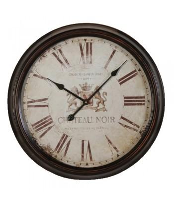 """Horloge """"Chateau noir"""""""