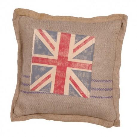 Housse de coussin drapeau anglais