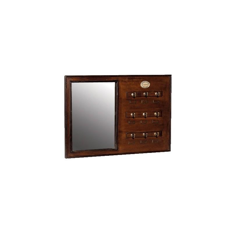 tableau porte cl 2 en 1 pas cher british d co. Black Bedroom Furniture Sets. Home Design Ideas