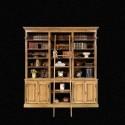 Bibliothèque Echelle Chêne massif