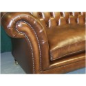 Canapé Chesterfield 2 places MODELE Kensington