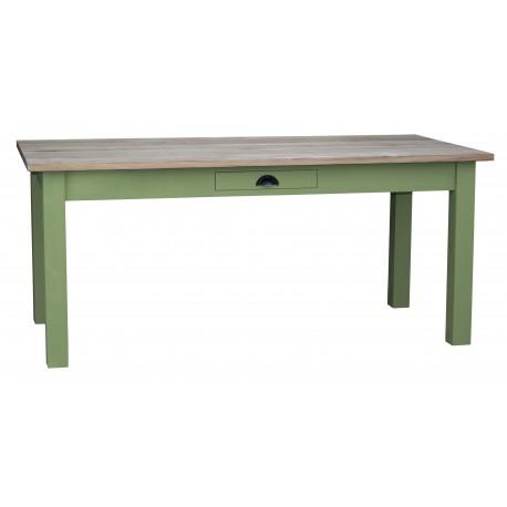 Table rectangulaire 1 tiroir