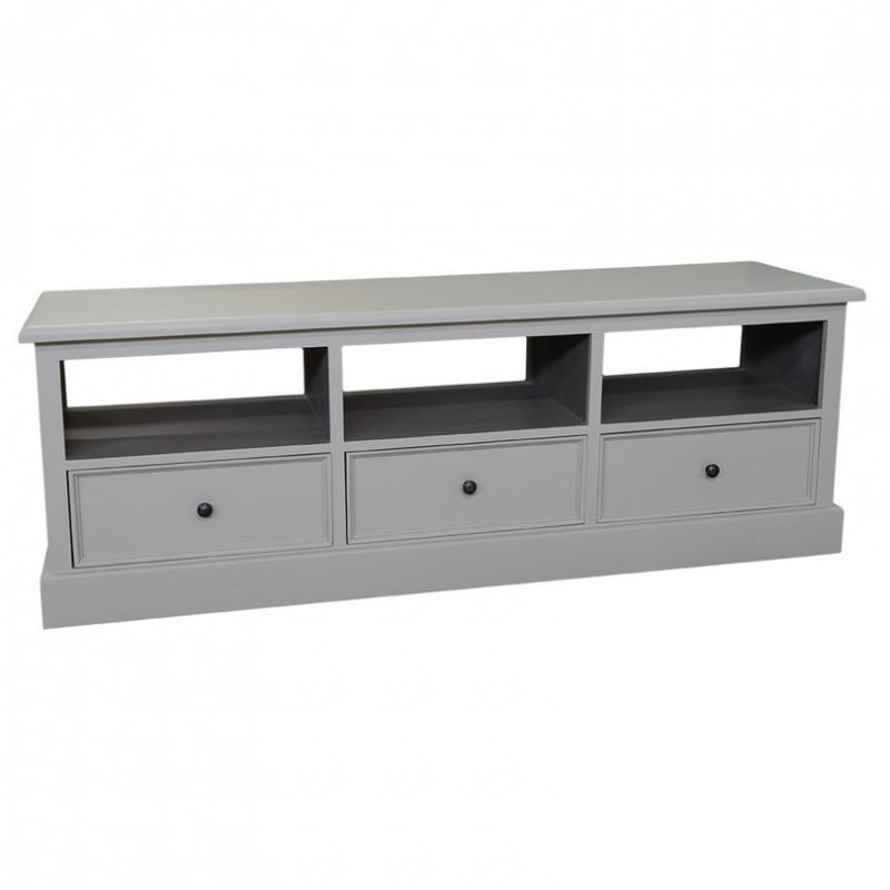 meuble tv plasma 3 tiroirs pas cher british d co. Black Bedroom Furniture Sets. Home Design Ideas