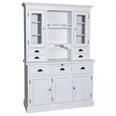 Vaisselier 3 portes 3 tiroirs