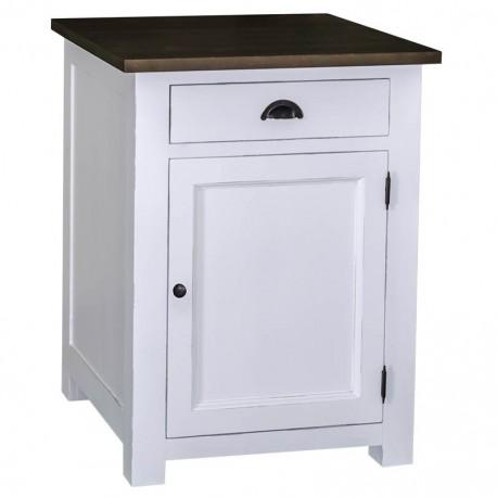 Meuble de cuisine 1 porte 1 tiroir