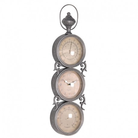 HORLOGE ANTIQUE TRIPLE