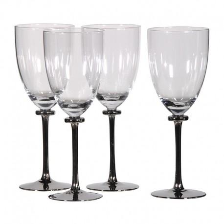 set de 4 verres à vin