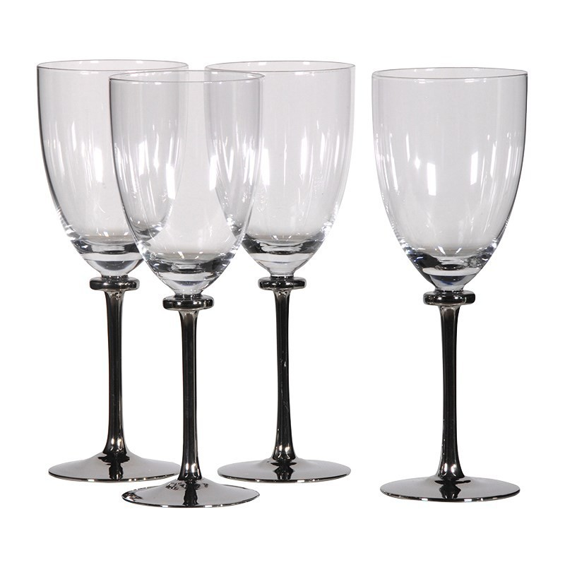 set de 4 verres vin pas cher british d co. Black Bedroom Furniture Sets. Home Design Ideas