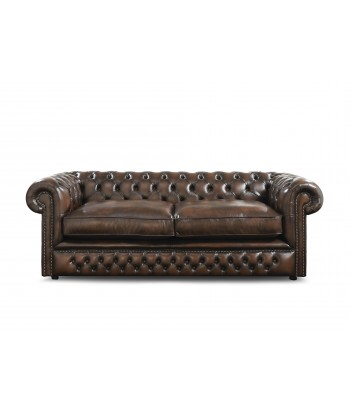 CANAPE CHESTERFIELD 3 PLACES A COUSSINS