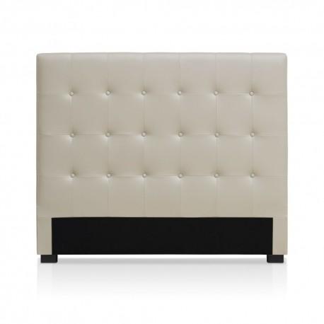 Tête de lit beige 140cm