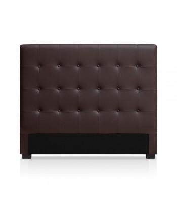 Tête de lit marron 140cm