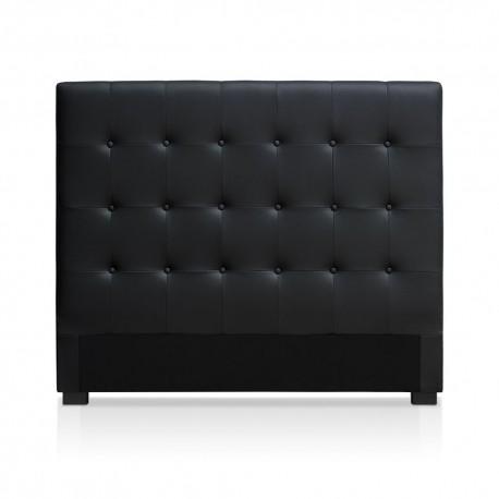 Tête de lit noir 140cm