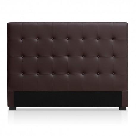 Tête de lit marron 160cm