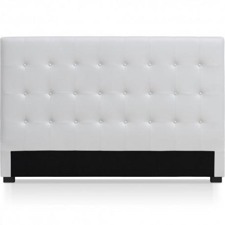t te de lit blanche 180cm pas cher british d co. Black Bedroom Furniture Sets. Home Design Ideas