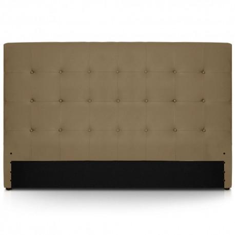 Tête de lit taupe 180cm