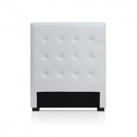 Tête de lit blanche 90cm
