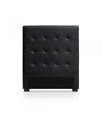 Tête de lit noir 90cm