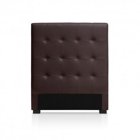 Tête de lit marron 90cm