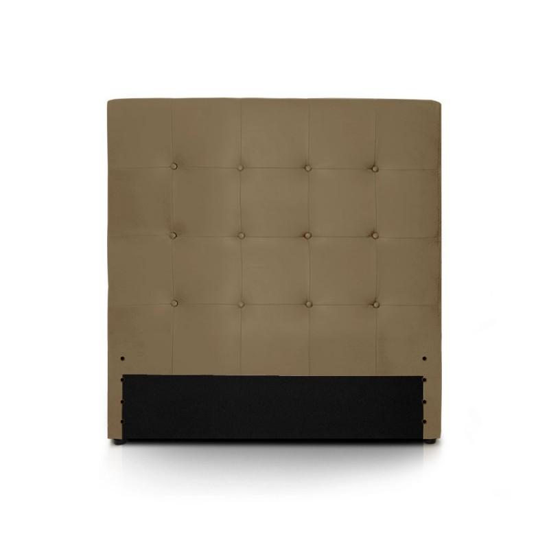 t te de lit taupe 90cm pas cher british d co. Black Bedroom Furniture Sets. Home Design Ideas