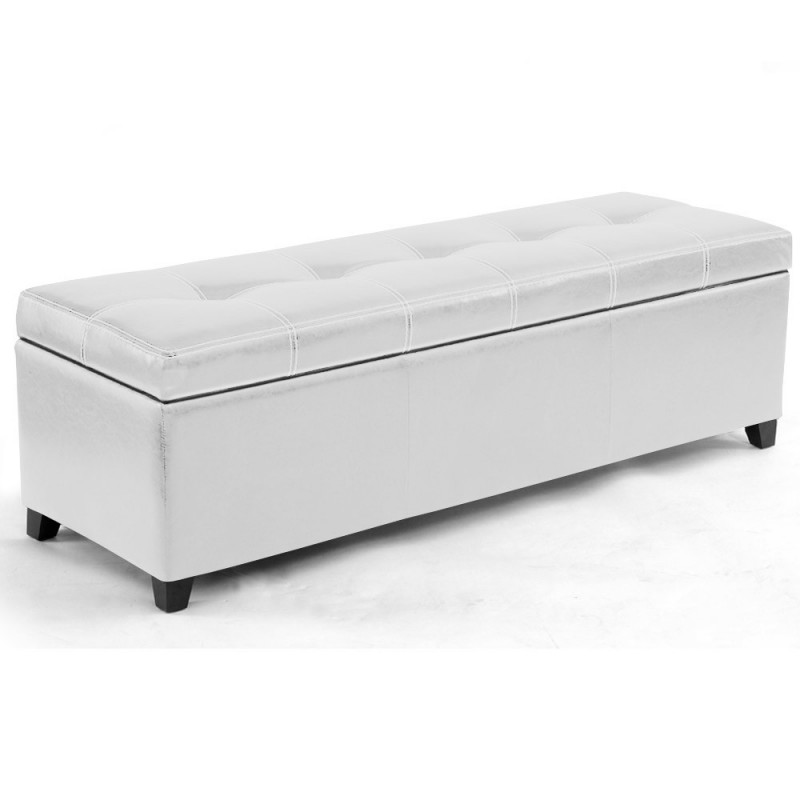 banquette coffre ava blanc pas cher british d co. Black Bedroom Furniture Sets. Home Design Ideas