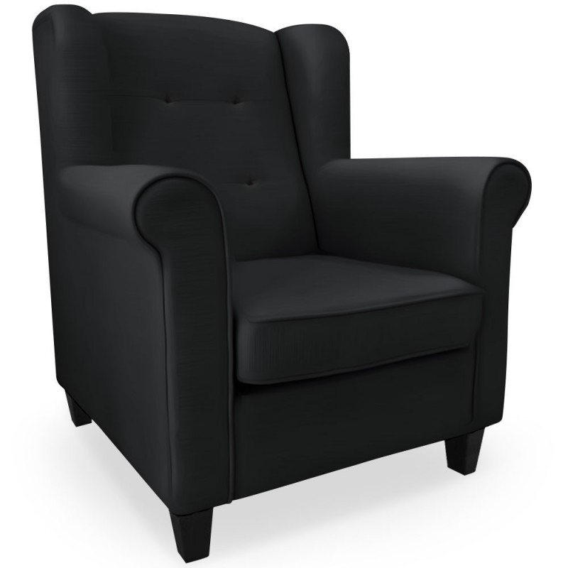 fauteuil scandinave noir pas cher british d co. Black Bedroom Furniture Sets. Home Design Ideas