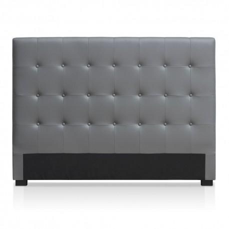 Tête de lit grise 160cm