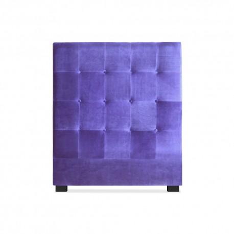 Tête de lit 90cm Velours Violet