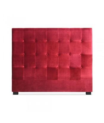 Tête de lit 140cm Velours Rouge