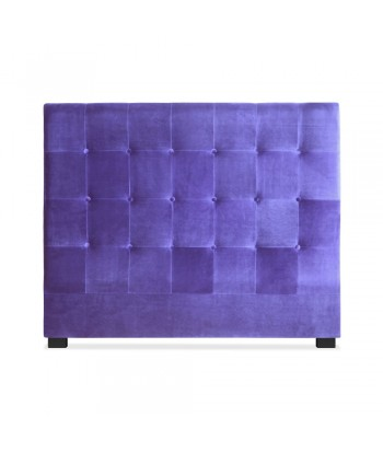 Tête de lit 140cm Velours Violet