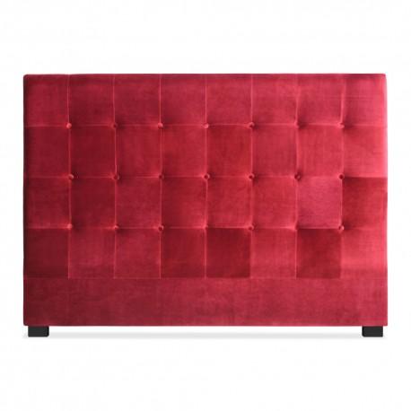 Tête de lit 160cm Velours Rouge