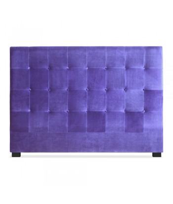 Tête de lit 160cm Velours Violet