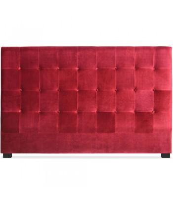 Tête de lit 180cm Velours Rouge