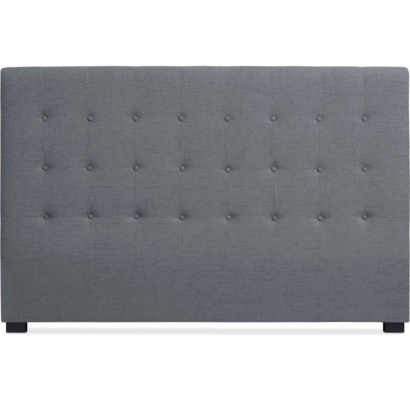 t te de lit 180cm tissu gris pas cher british d co. Black Bedroom Furniture Sets. Home Design Ideas
