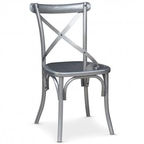 Chaise en métal Métal