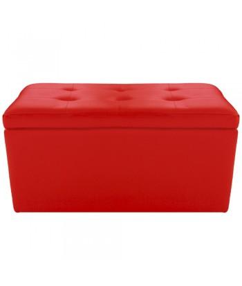 Banquette Coffre Rouge