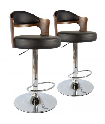 Chaises de bar vintage Lot de 2