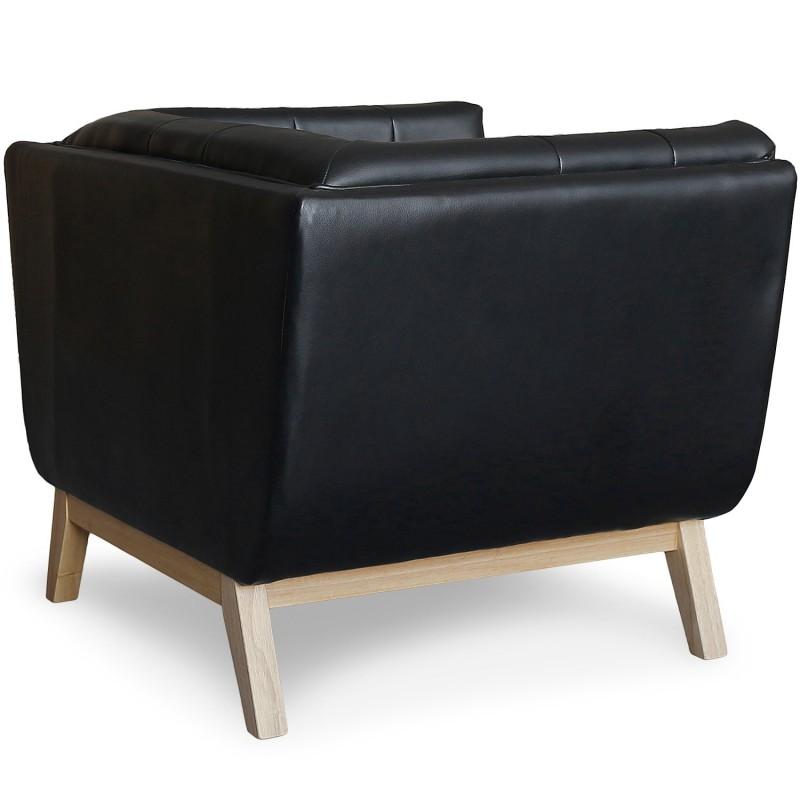 fauteuil scandinave design noir pas cher british d co. Black Bedroom Furniture Sets. Home Design Ideas