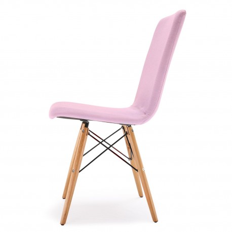 Chaises scandinaves design Zenata Lot de 2