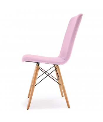 Lot de 4 chaises scandinaves Gao Tissu