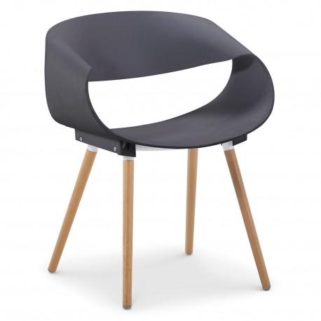 Lot de 20 chaises scandinaves design Zenata